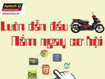 """"""" Luôn dẫn đầu – Nắm ngay cơ hội""""  cùng Hanoi-Aptech"""