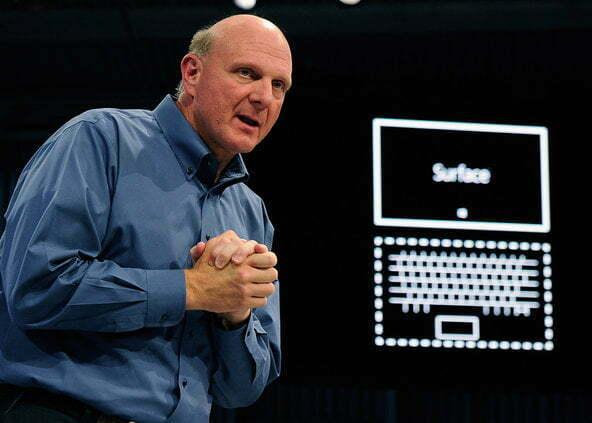 Read more about the article Microsoft thừa nhận rủi ro với máy tính bảng