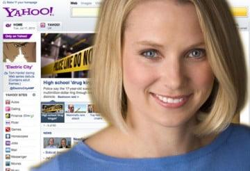 Nếu công ty vực dậy thành công thì CEO Yahoo kiếm được 100 triệu USD