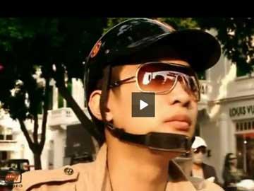 Hanoi-Aptech :Trạm nghỉ 1 : Dừng xe tắt máy vẫn hiên ngang dẫn đầu
