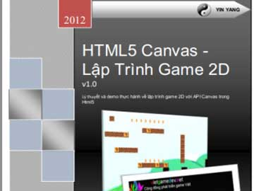 Read more about the article Ebook – HTML5 Canvas – Lập Trình Game 2D (Free)