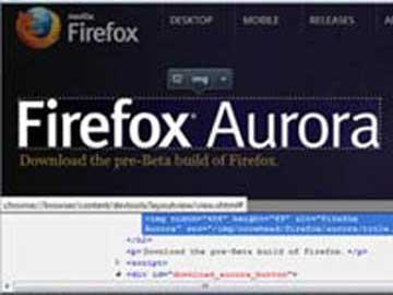 Firefox 15 Aurora: Những tính năng độc đáo dành cho nhà phát triển