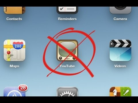 Apple xoá ứng dụng Youtube khỏi iOS