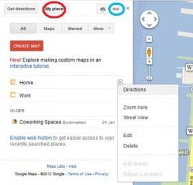 Những thủ thuật hữu ích nên biết về Google Maps