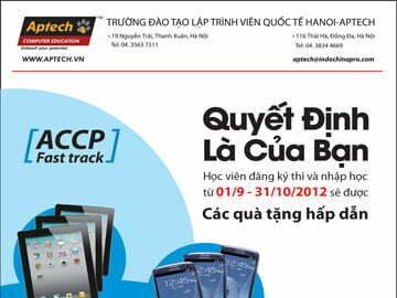 """Hanoi-Aptech: Thành công hay thất bại """"Quyết định là của bạn"""""""