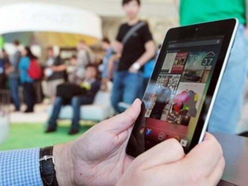 Nexus 7 tiêu thụ mạnh theo dự kiến của Google