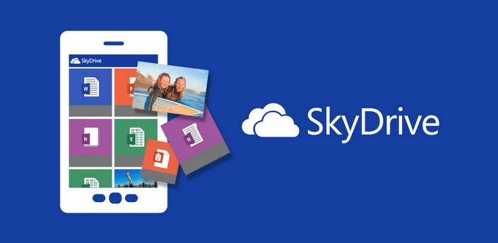 Ứng dụng SkyDrive đã có mặt cho điện thoại Android