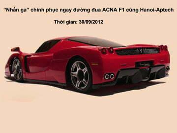 """Hanoi-Aptech: """"Nhấn ga"""" chinh phục đường đua F1 – Quản trị mạng"""