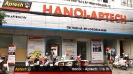 Phóng sự Hanoi Aptech trên InfoTV