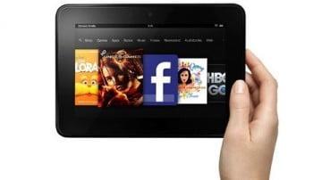 """Nexus 7 thành """"chú lùn"""" bởi màn hình Kindle Fire HD"""