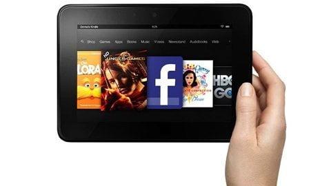 """Read more about the article Nexus 7 thành """"chú lùn"""" bởi màn hình Kindle Fire HD"""