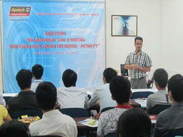 Hanoi-Aptech thông báo  lại  thời gian, địa điểm diễn ra Hội thảo ACNA F1
