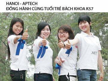 Read more about the article HANOI – APTECH ĐỒNG HÀNH CÙNG TUỔI TRẺ BÁCH KHOA K57