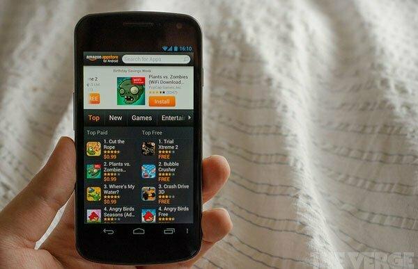 Ngày mai Amazon sẽ công bố Smartphone Android