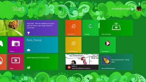 Windows 8 ứng với trải nghiệm phiên bản Final
