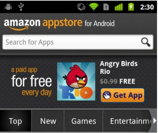 Amazon Appstore song song Google Play trên Android