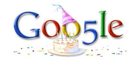 Mừng ngày sinh nhật Google bằng những Doodle đặc biệt