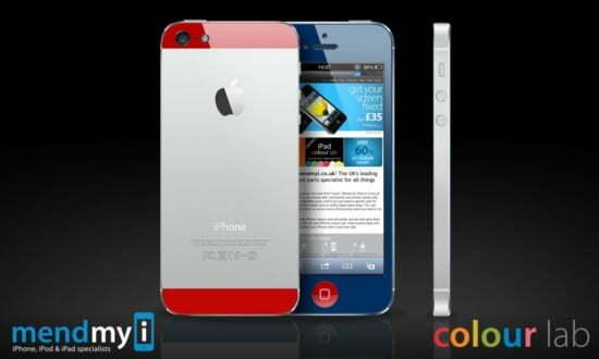 iPhone 5 phong phú với nhiều màu sắc