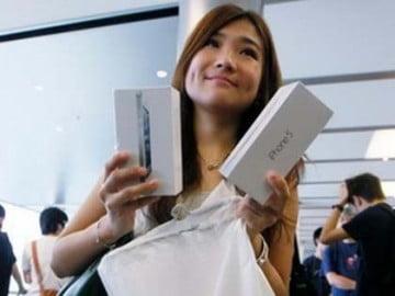 Apple đã tiêu thụ 5 triệu iPhone 5 trong 3 ngày