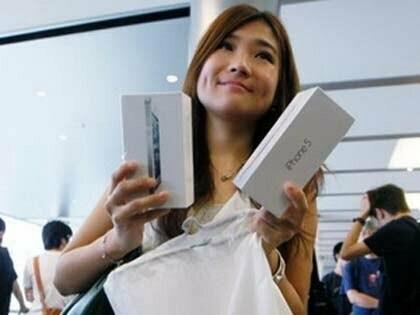 Read more about the article Apple đã tiêu thụ 5 triệu iPhone 5 trong 3 ngày