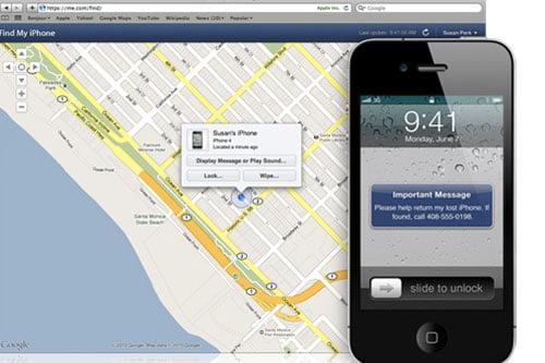 Find My iPhone – Quản lý iPhone khi bị mất
