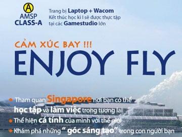 Cùng Hanoi – Arena Enjoy fly đến Singapore, cơ hội là của bạn!