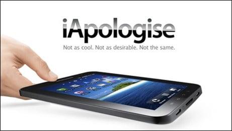 Apple phải hạ mình xin lỗi Samsung