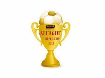 Trái bóng của A League – Super Cup 2012 đã sắp lăn