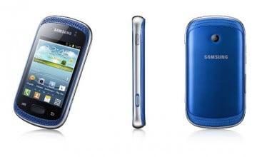 Samsung ra mắt Galaxy Music, smartphone giá thấp, phiên bản 2 Sim