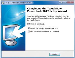 Tweak Now Power Pack 2012: tăng tốc máy tính hiệu quả