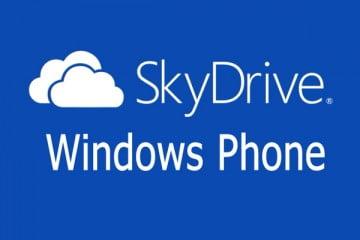 Ứng dụng SkyDrive cho thiết bị Windows Phone 8
