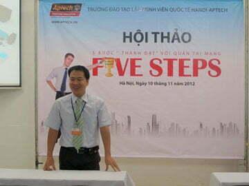 Hanoi – Aptech – Khám phá 5 bước thành công với nghề quản trị mạng