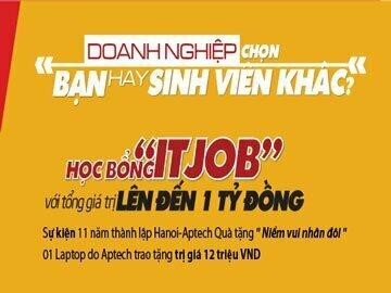 Hanoi-Aptech: Nhân đôi niềm vui – ưu đãi hấp dẫn