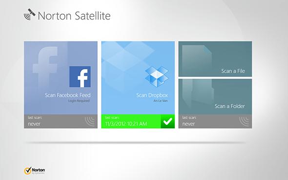 """Norton Satellite giúp bạn bảo vệ tốt hơn các tài khoản """"đám mây"""""""