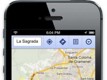 Google Maps đã chính thức trở lại với iPhone