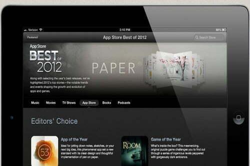 Apple công bố ứng dụng, game hàng đầu 2012 cho iPhone, iPad