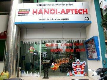Hanoi –Aptech: Rộn ràng không khí Giáng sinh