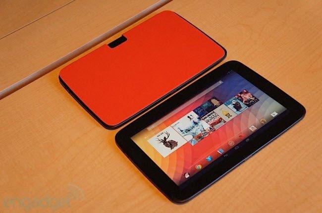 Phiên bản mới siêu tablet Nexus 10