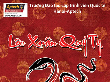 """Read more about the article Hanoi-Aptech tặng quà năm mới cho các """"thủ lĩnh"""" hệ thống mạng"""
