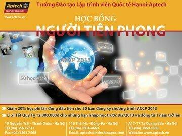 """Đón đầu công nghệ với học bổng """"Người tiên phong"""" cùng Hanoi-Aptech"""