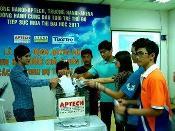 Học viên Hanoi – Aptech chúc mừng ngày học sinh, sinh viên Việt Nam