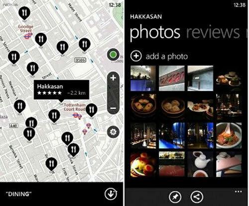 Windows Phone – Ứng dụng thay thế Google Maps