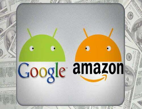 """Google bắt đầu """"tuyên chiến"""" với Amazon"""