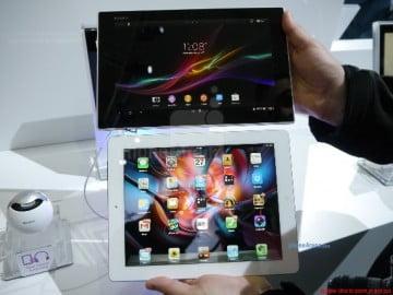 Read more about the article So sánh sơ bộ Xperia Tablet Z và iPad 4
