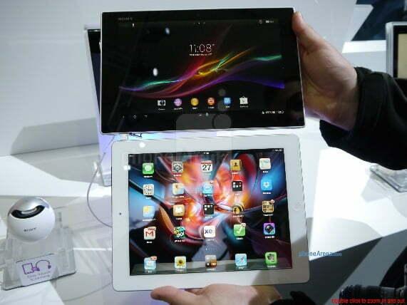 So sánh sơ bộ Xperia Tablet Z và iPad 4