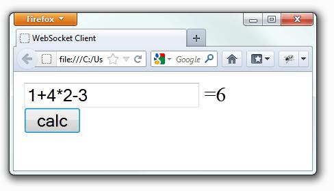 WebSocket Client Demo