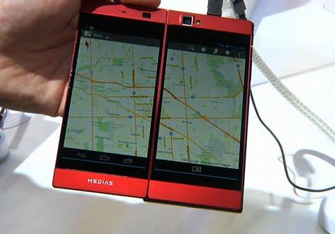 Read more about the article Độc đáo smartphone Nhật với hai màn hình mới nhất