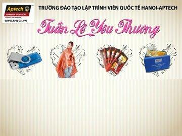 Read more about the article Hanoi-Aptech: Tuần lễ vàng gửi trọn yêu thương