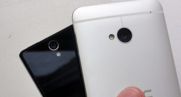 HTC One 'so găng' Sony Xperia Z