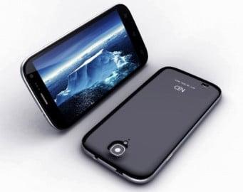 Hé lộ smartphone lõi tứ, siêu nét giá rẻ